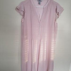 H&M pink( blush) dress
